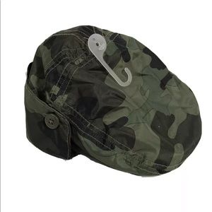 Baby Gap Camo Hat with Button up Ear Flaps XS
